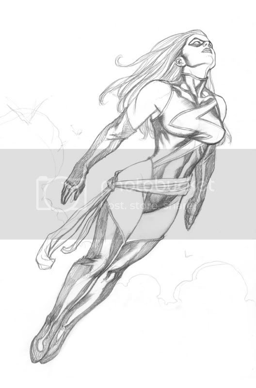 Ms. Marvel by Frank Cho