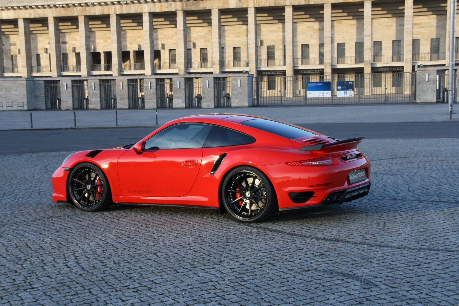 Radinox Wheels For The Moshammer Porsche Turbo Schmidt Wheels