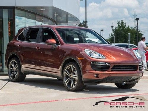 Find Used 2011 Porsche Cayenne S Cpo Auburn Metallic Bose