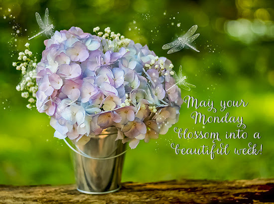 Monday Wishes For A Beautiful Week Free Monday Blues Ecards 123