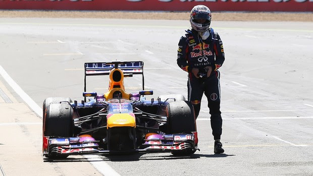 vettel Silverstone inglaterra formula 1 (Foto: Getty Images)
