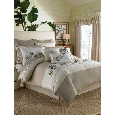 J&J Bedding Palm Tree Matelasse Collection | Wayfair