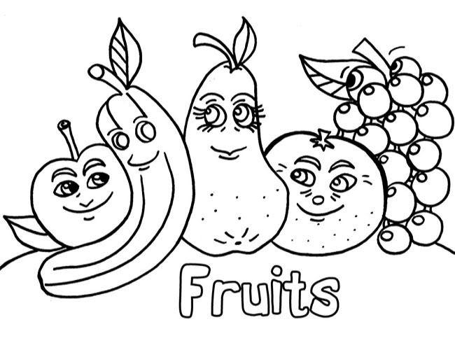 69 Dessins De Coloriage Fruit à Imprimer Sur Laguerchecom Page 2