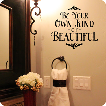Be Your Kind Of Beautiful Wall Decal Girls Wall Quotes