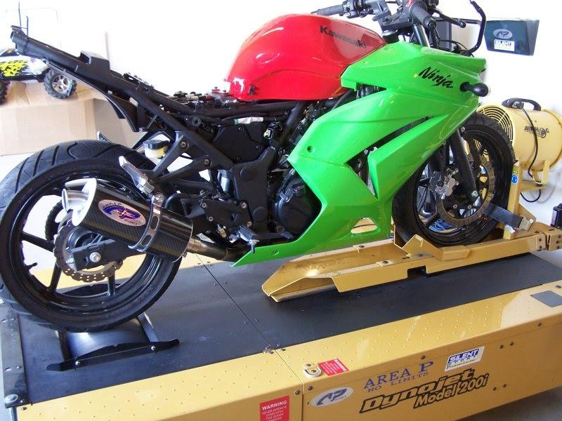 Kawasaki Ninja 250r Slip On Exhaust Area P No Limits