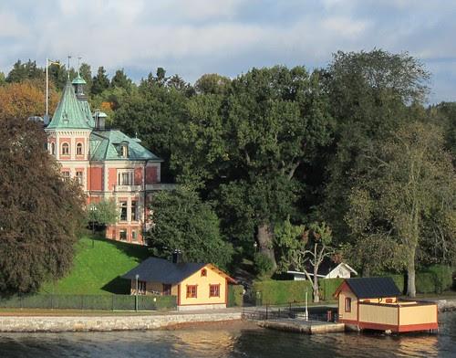 Huvila Tukholman saaristossa