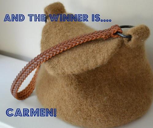 the road bag winner