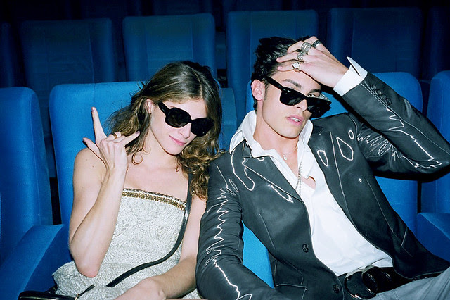 Elisa Sednaqui and Baptiste at Chanel Cruise 2 - Joie de Vivre ... - Photo by Bella Howard