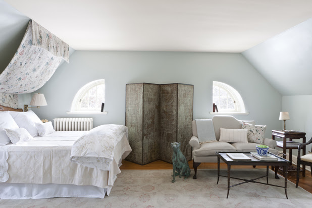 Slanted Bedroom Walls Decor - Bedroom Before After