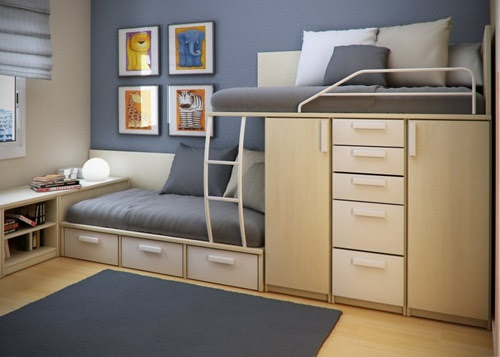 Creative Space-Saving Ideas for Small Kids' Bedrooms ...