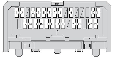 Scion Xb 2012 2016 Fuse Box Diagram Auto Genius