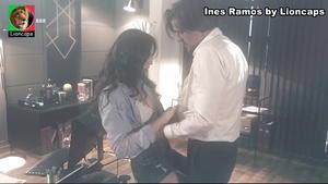 Ines Ramos super sensual na novela A Teia