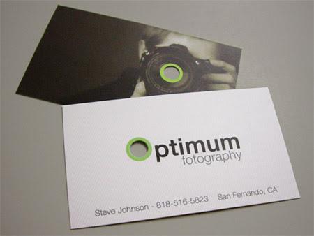 Optimum Fotography Business Card