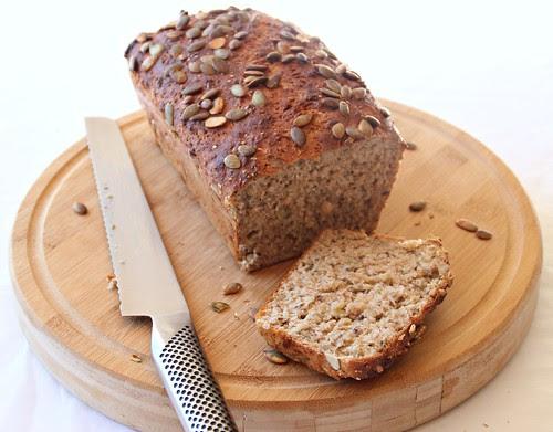 Very Seedy, Very Easy, Wholemeal Bread 2