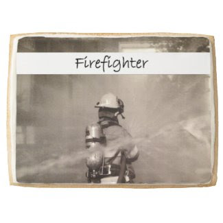 Firefighters At Work Jumbo Cookie