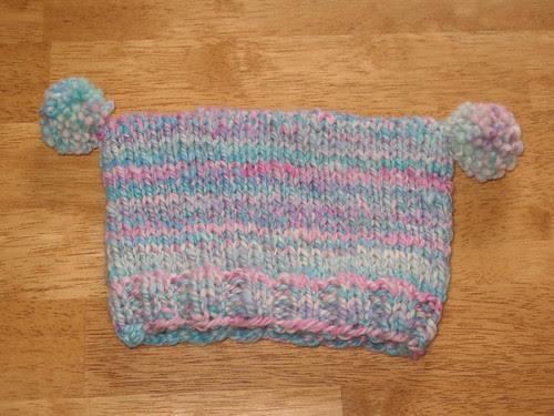 Handspun Baby Hat