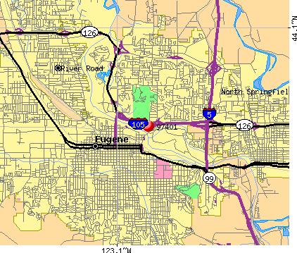 Eugene Oregon Zip Code Map Eugene Zip Code Map | Earth Map