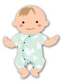 生後5ヶ月の赤ちゃんの服装5ヶ月ベビーに着せる服と肌着月齢別の着せ