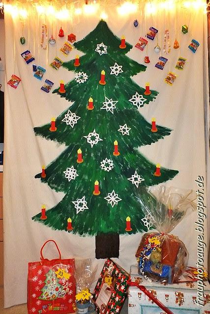 Der gemalte Weihnachtsbaum