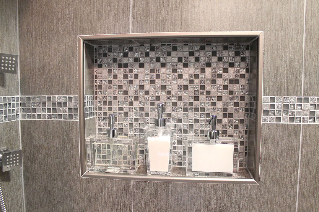 How to design and build a shower niche by Ramcom Kitchen ...
