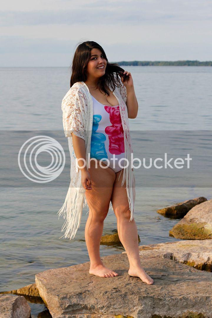 Love This Sunday Plus Size Fashion Plus Size Swimsuit Gummy Bear Swimsuit Sibbald Point Plus Size Fashion Swim Canada Toronto
