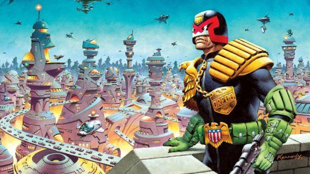 Judge Dredd by Ian Kennedy