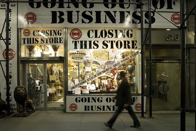 Store Closing, nyc