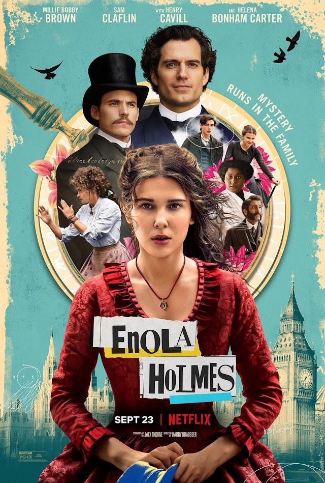 에놀라 홈즈 ( enola holmes, 2020 ) 한글자막