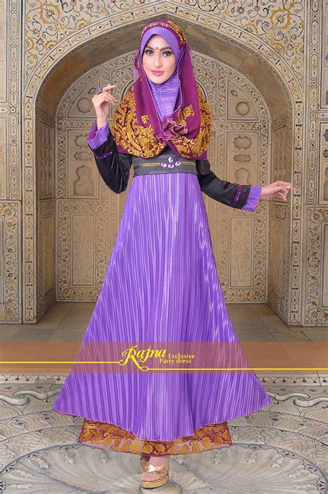pilihan gamis modern syari  dress gamis pesta muslim