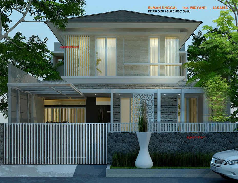 Desain Rumah Tingkat Bagian Belakang Desain Interior Terbaru