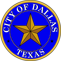 English: Seal of the City of Dallas