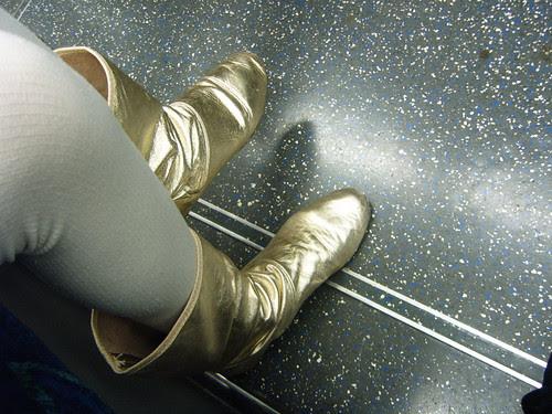 Jetson Metallic Boots
