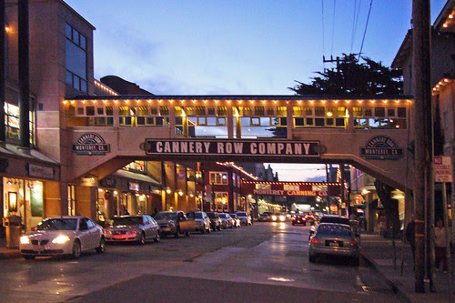 A  Cannery Row Evening