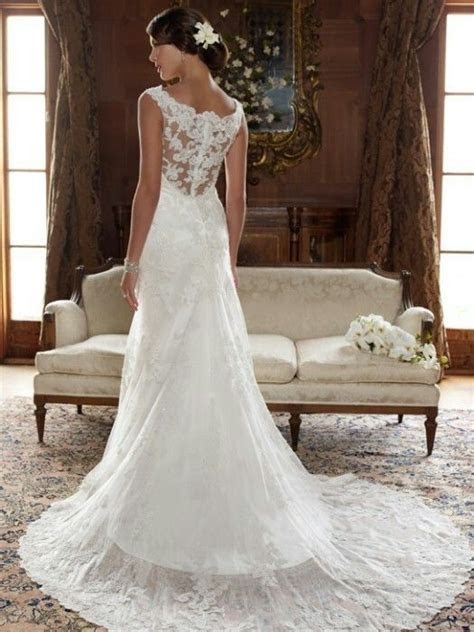 Lace open back wedding dress   All about Weddings ?