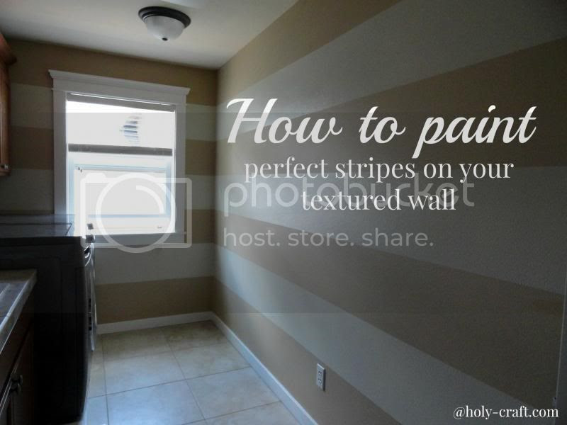 How To Paint Perfect Lines On Textured Walls Datfeata