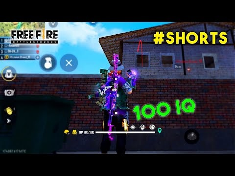 EPIC 100 IQ BOOYAH WITH GRENADE | GARENA FREE FIRE #Shorts