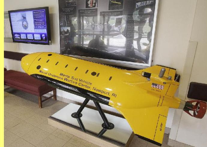 Modelo do drone subaquático.