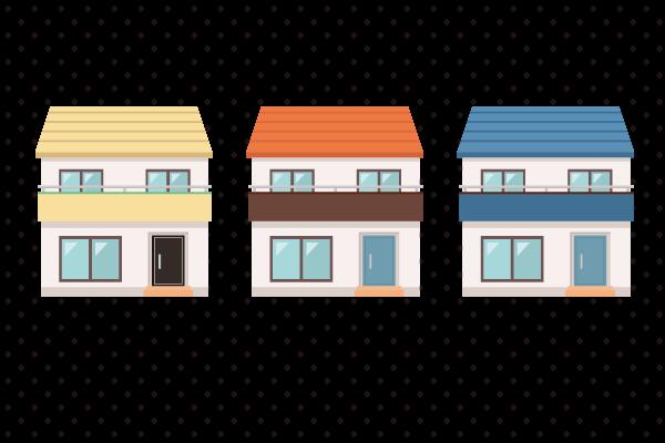 一般的な住宅 街建物系イラスト専門サイトtown Illust