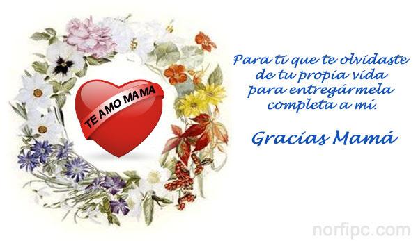 Imagenes Con Frases Y Poemas De Amor Para Homenajear A Mama En El