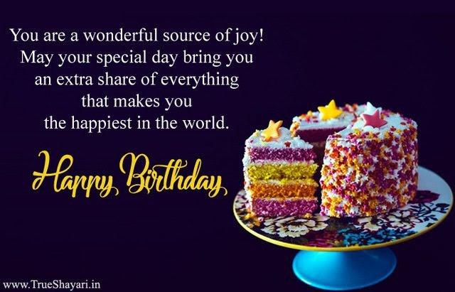Cake Quotes In Hindi Birthday
