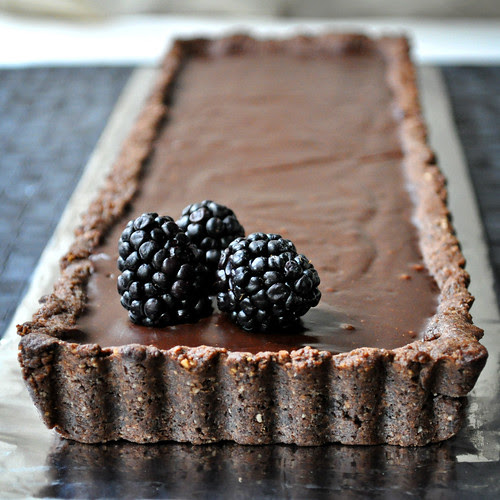 Hazelnut Chocolate Tart 3