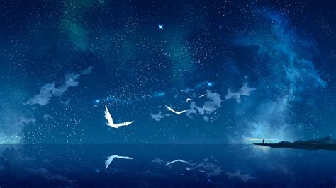 starry sky hd wallpapers background images