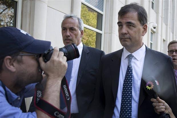 Alejandro Burzaco, ex CEO de TyC, en la Corte de Brooklyn