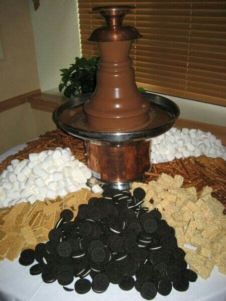 Chocolate fountain. Easy & cheap!   PARTY LOVE   Fondue