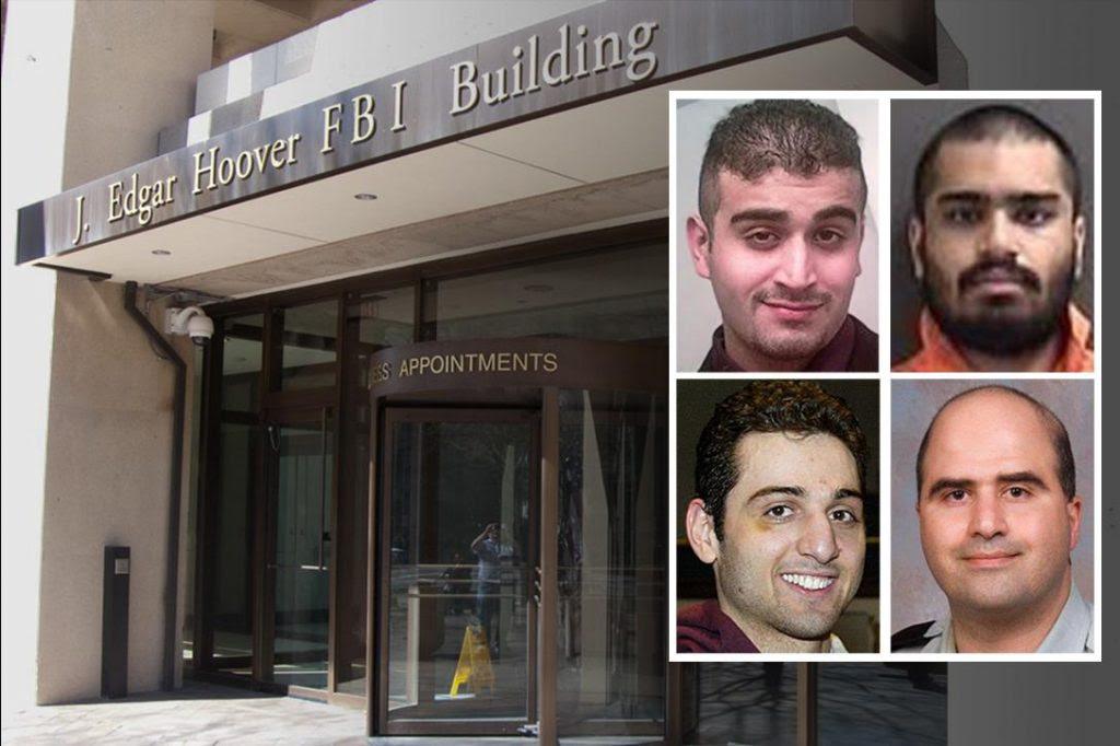 J. Edgar Hoover building, Omar Mateen, Wasil Farooqui, Tamerlan Tsarnaev, Major Nidal Hasan