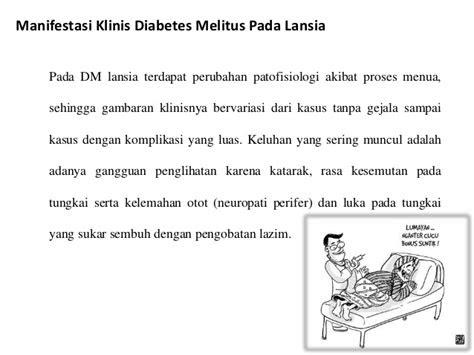 diabetes mellitus  lansia