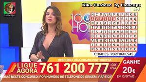 Kika Cardoso sensual no programa 1000 à hora