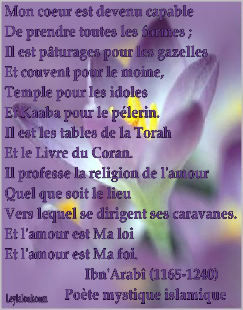 Citation Amour Impossible Islam