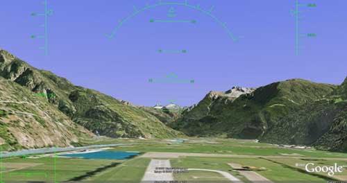 Google Earth飞行模拟游戏