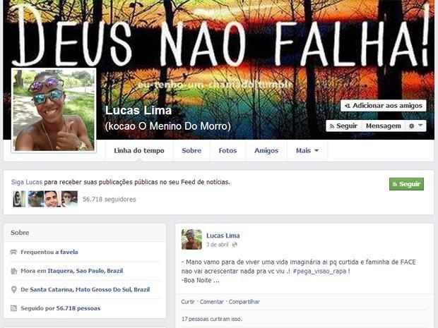 G1 Famoso Dos Rolezinhos Pensava Em Desativar Perfil No Facebook